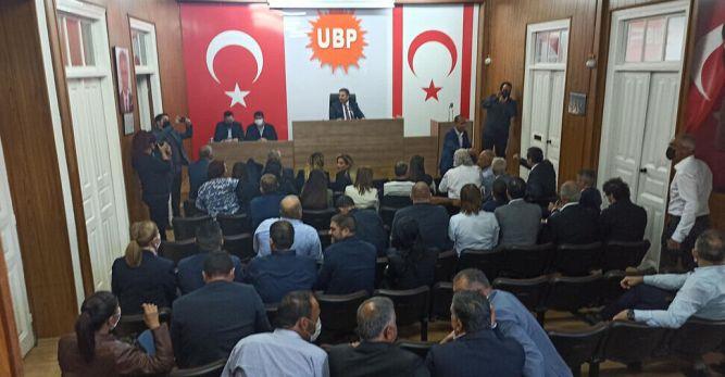 UBP'de MYK toplanıyor