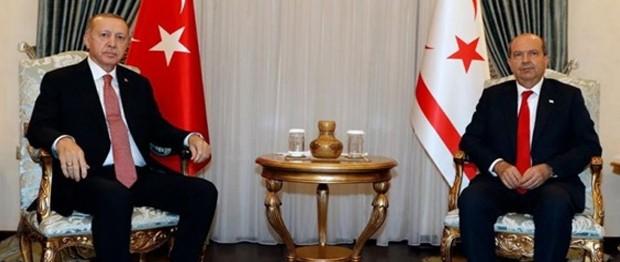 Kıbrıs mutfağının eşsiz lezzetleri Erdoğan çiftinin beğenisine sunuldu