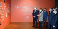 "Bakan Ersoy, ""100 Objede İslam Bilim Tarihi Sergisi""ni ziyaret etti"