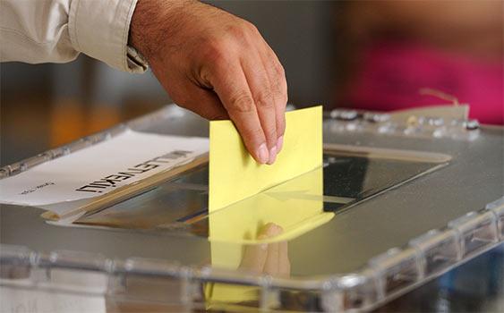 Oy kullanmada Covid 19 önlemleri uygulanacak