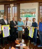 TC Bisikletliler Derneği heyeti Çağman ve Ataoğlu ile bir araya geldi