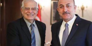 """Borrell ile Çavuşoğlu, New York'ta bir araya geldi: """"Türkiye ile yakın iş birliği ve koordinasyon esastır"""""""