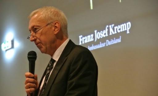 Alman Büyükelçisi  Kremp;  Her zaman Rum'un  yanındayız