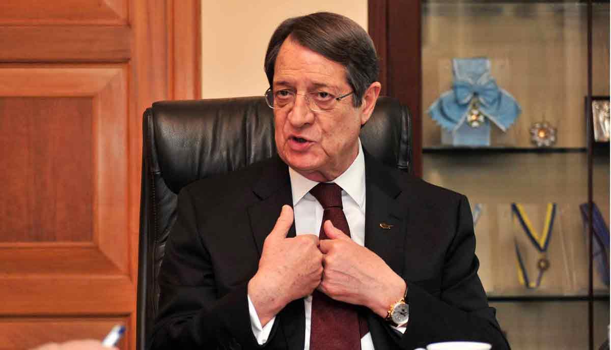 Anastasiadis; AB Türkiye'ye yaptırımlarını artırmalı