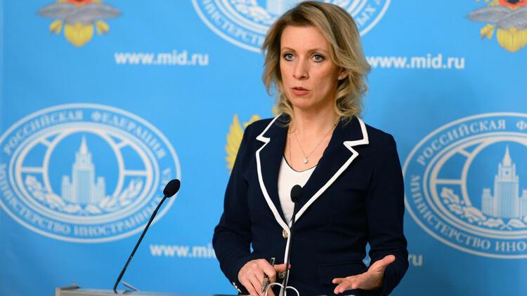 Zaharova;   Türkiye'ye yönelik yaptırımlar yasa dışı