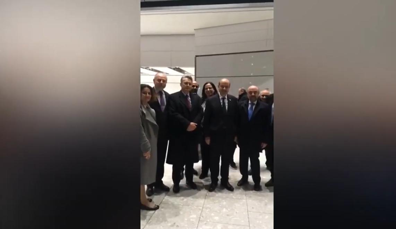 Başbakan Tatar Londra'da