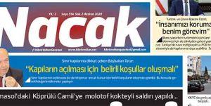 2 Haziran 2020 NACAK Gazetesi