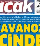 3 Temmuz 2020 NACAK Gazetesi