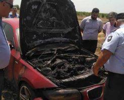 Kalkanlı'nın aracı benzin dökülerek yakıldı