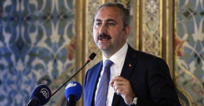 Türkiye Adalet Bakanı Gül;   Camilere saldırılar alçakça