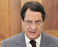 Anastasiadis;   Türkiye Kıbrıs'ta olmamalı