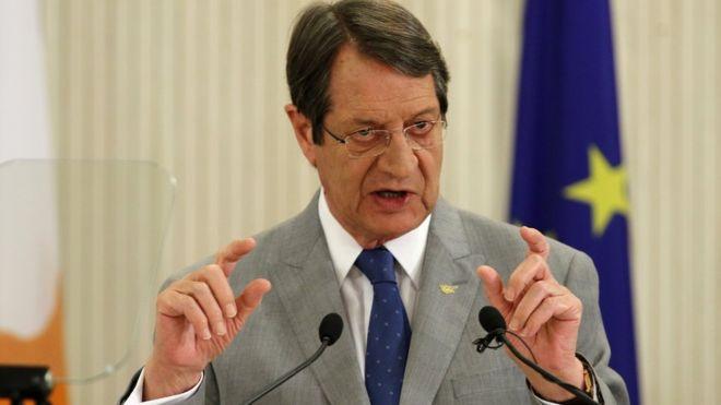 """Anastasiadis; """"Hedefim Kıbrıs'ı birleştirmek"""""""