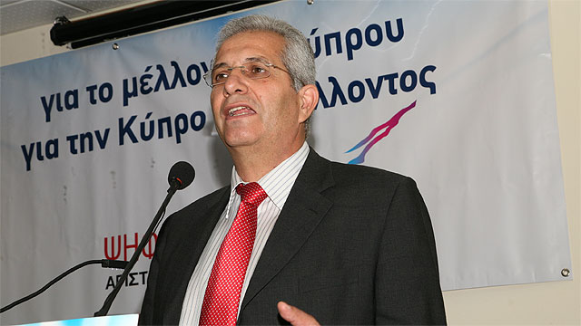 AKEL Genel Sekreteri Kiprianu;   Beşli konferans bizi endişelendiriyor