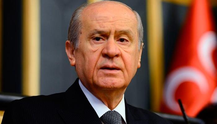 Bahçeli;   Kıbrıs Türk'tür Türk kalacaktır
