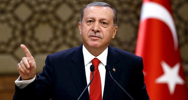 Cumhurbaşkanı Erdoğan;    Kıbrıs Türklerinin haklarını çiğnetmeyiz