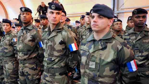 Limasol'da 2 bin Fransız askeri