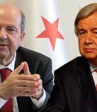 Guterres ile telefonda görüşen Cumhurbaşkanı Tatar;  Egemen eşitliğe dayalı iki devlet