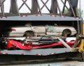 """Avustralya'da """"uslanmaz"""" sürücülerin araçları eziliyor… KKTC'de de uygulanmalı…"""