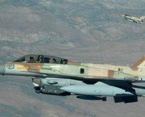 İsrail savaş uçakları Rum'a koruma sağlıyor