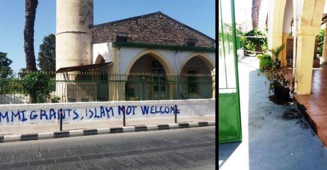 Rumlar camiyi yakacaktı