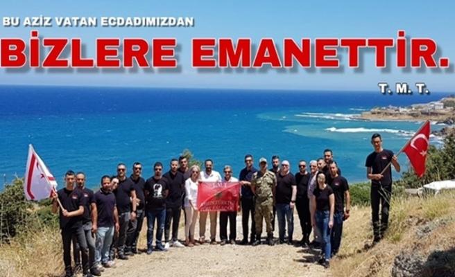 """Kıbrıs TMT Mücahitler Derneği Gençlik Kolu; """"Kıbrıs Türk'tür Türk Kalacak  """""""