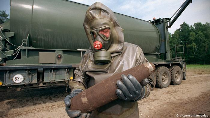 Rum Yönetimi iyice çıldırdı… Şimdi de kimyasal silah
