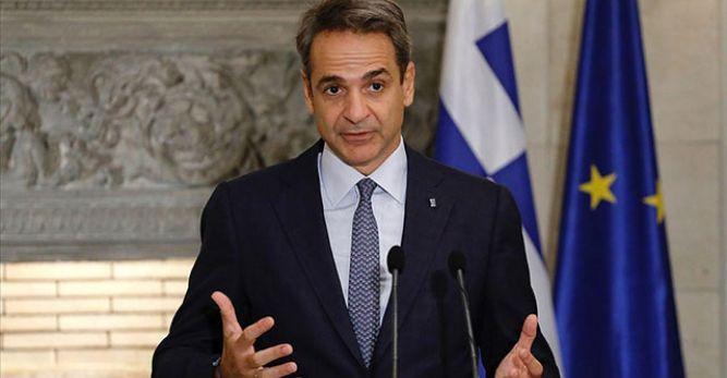 Yunan Başbakan Miçotakis: Türkiye ile bir silahlanma yarışına girme niyetim hiç yok