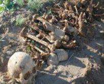 Gömü yeri dağıtıldı