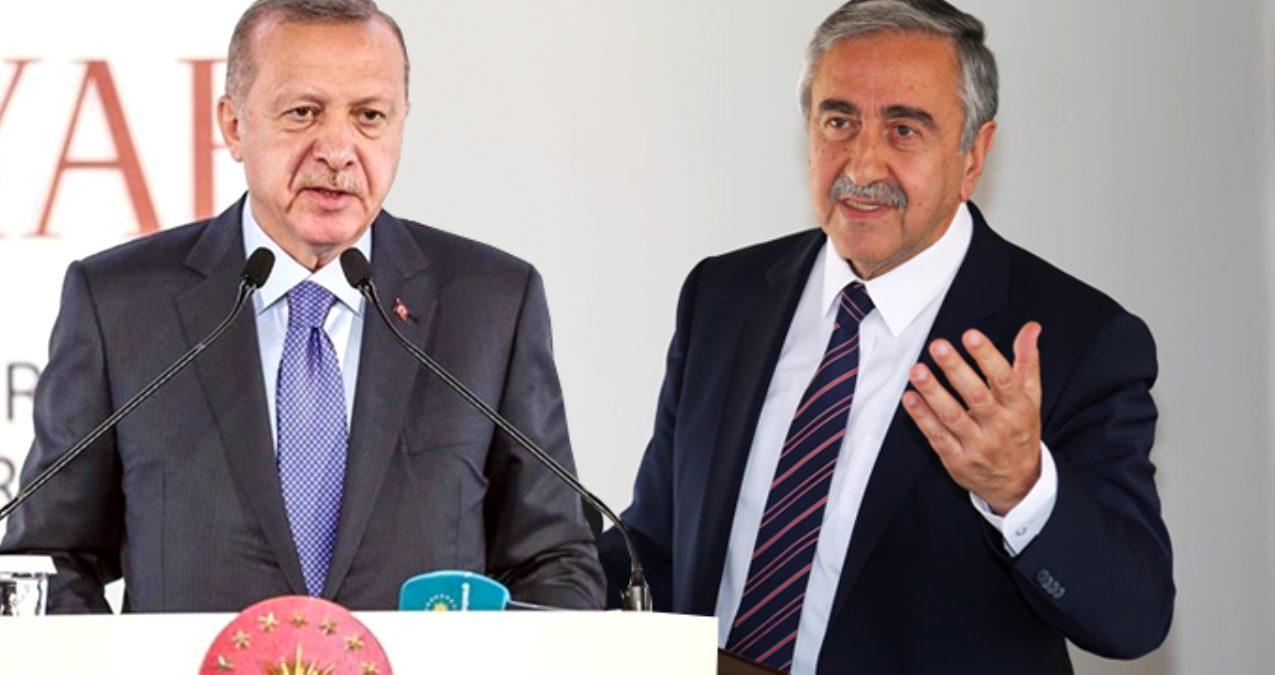 """Akıncı'nın Erdoğan'a yaptığı öneri;  """"Denktaş görüşmecilikten alınsın"""""""