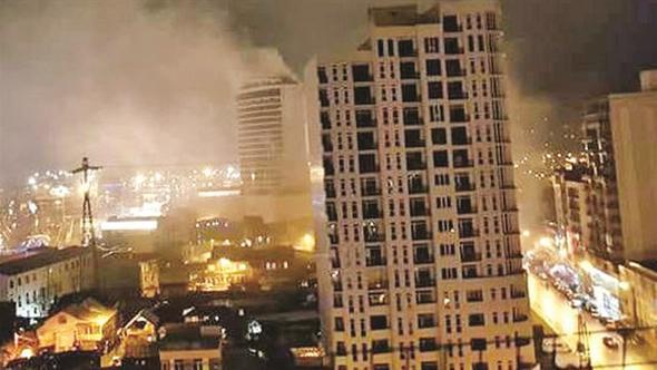 KKTC'den Gürcistan'a… Avgören'in otelini yaktılar