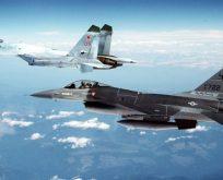 ABD uçakları koruma sağlıyor