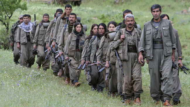 PKK'nın uyuşturucu trafiği