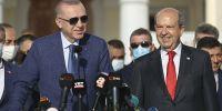Erdoğan: Kıbrıs Türkü diyoruz, olaya böyle bakıyoruz