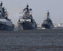 Rusya Akdeniz'de askeri yığınak yaptı