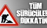 İskele-Çayırova ana yolunda trafik düzenlemesi!