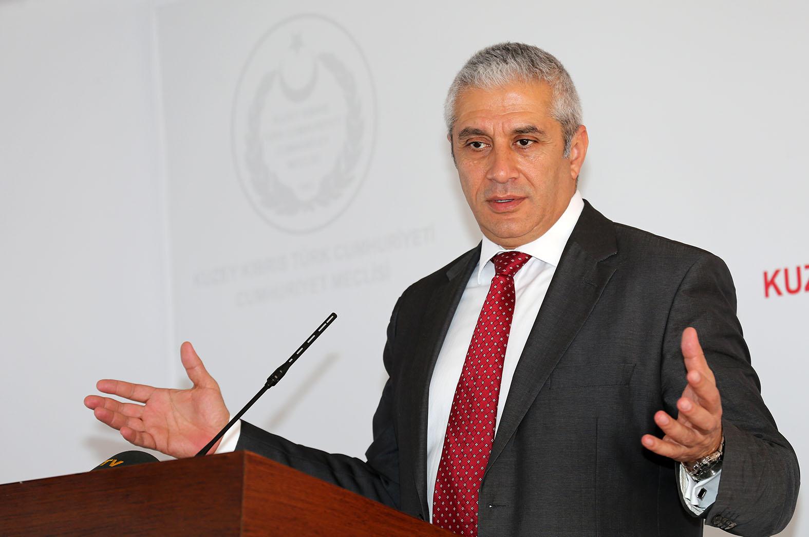 Taçoy;  UBP'nin Cumhurbaşkanı adayı belli değil