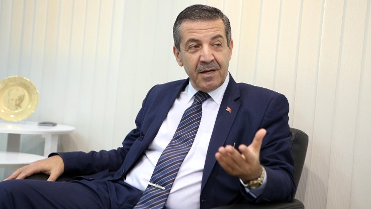 Dışişleri Bakanı Ertuğruloğlu;  Rumlar Maraş'ı unutsun