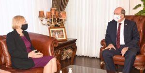 Cumhurbaşkanı Tatar;        Müzakereler iki eşit devlet temelinde başlamalı