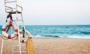 Glapsides sahilinde nöbet geçiren genci cankurtaran kurtardı