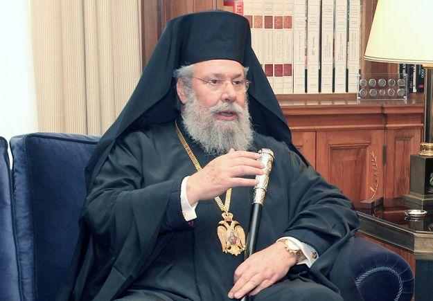 Hrisostomos, Türkiye'ye saldırdı   Yalancı papaz